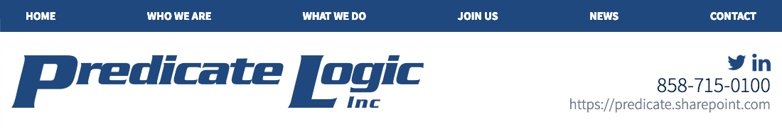 Predicate Logic Inc.